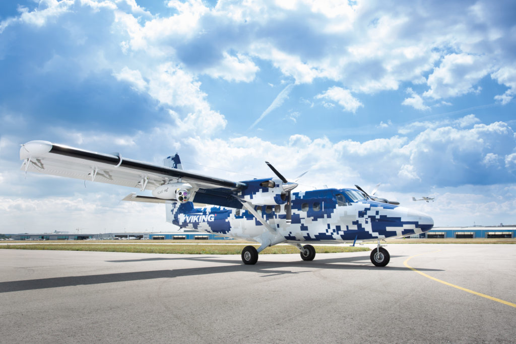 The Guardian 400 is a special mission variant of the Viking Series 400 Twin Otter featuring design and performance capabilities suited for a number of specialized operations. Viking Air Photo