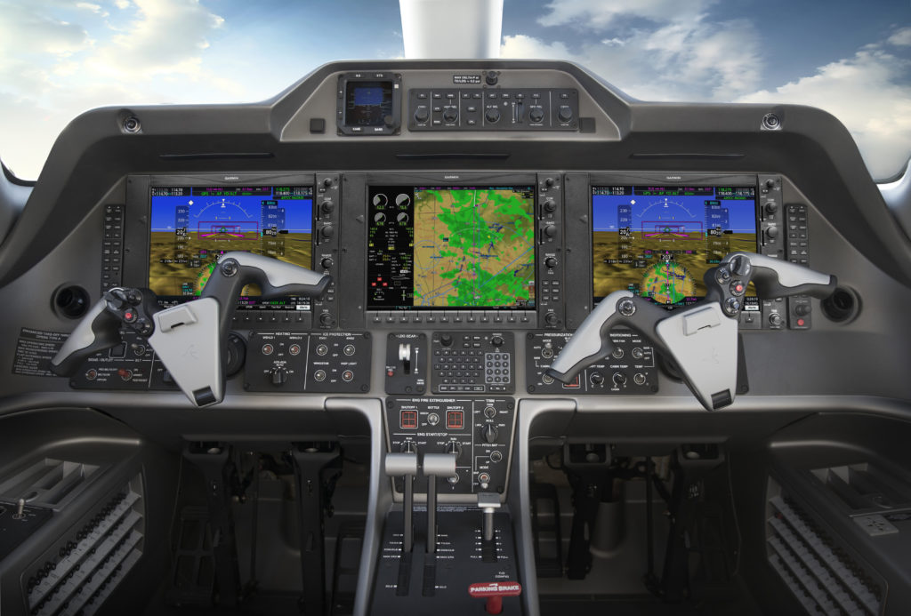Aircraft owners and operators can easily upgrade to the G1000 NXi with minimal aircraft downtime and disruption of the panel. Garmin Photo