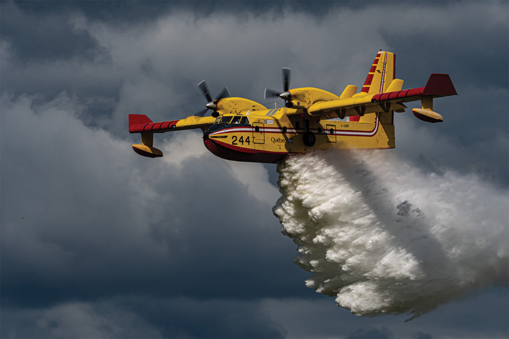 Viking will be investing in new technologies as it restarts production on a next generation CL-515 aerial firefighter and multirole amphibious aircraft. The company aims to reduce the weight of the aircraft by around 3,000 pounds so it can carry more water for aerial firefighting. Andre Laviolette Photo