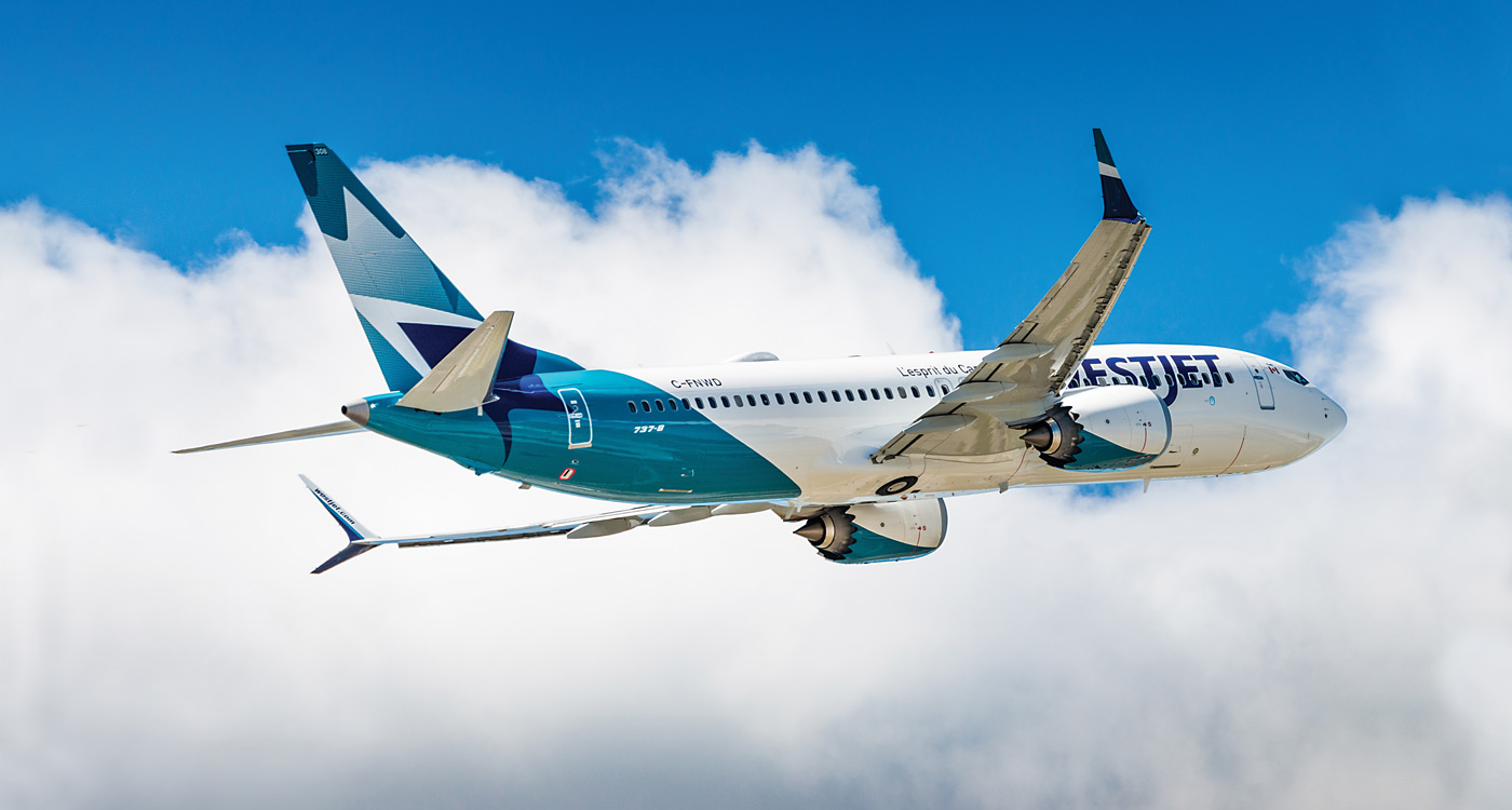 When flights resume, WestJet will return to its normal aircraft delivery schedule, taking delivery of four new Max 8s in 2020, including two that should have arrived in 2019. Adrian Edwards Photo