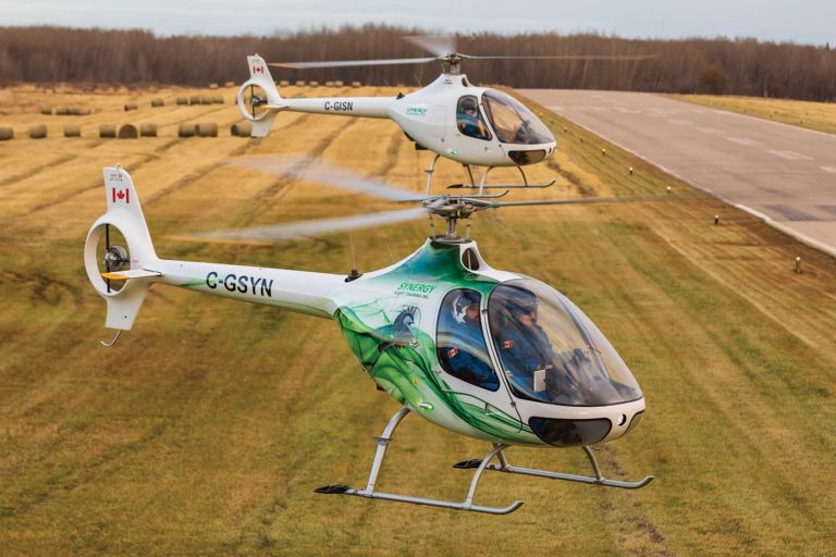 Synergy now has three Cabri G2s in its fleet. Two have already recorded over 1,000 flight hours, while the third has more than 500. Heath Moffatt Photo