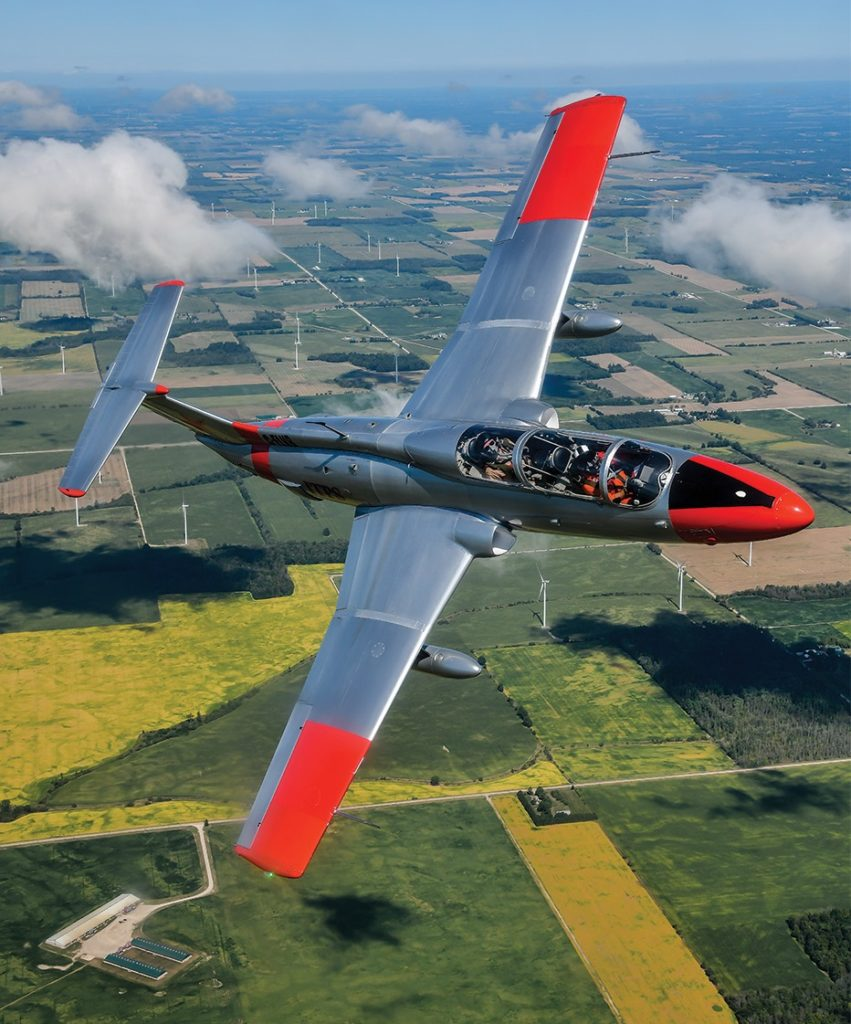 Getting hands-on experience in new aircraft types -- here, the L-29 trainer -- is a pleasant part of the ITPS experience. Mike Reyno Photo