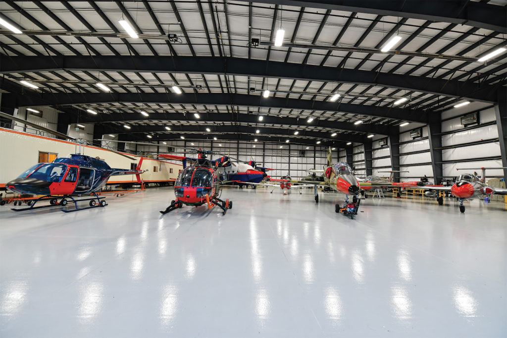 """The author's first impression was that, """"Walking into the hangar reveals a scene that will warm the heart of anyone with jet fuel coursing through their veins."""" Mike Reyno Photo"""