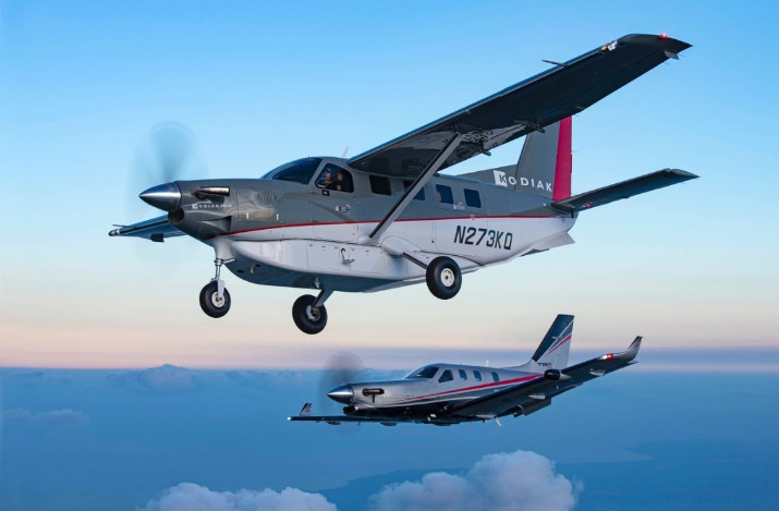 2019 was the first year that sales results included both the Kodiak and TBM aircraft in the company's annual tally of new business. Daher Photo