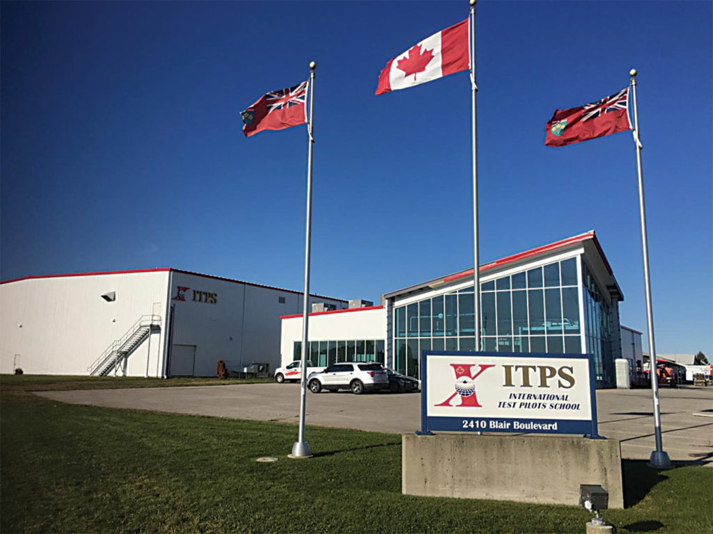 ITPS clearly intends to make London, Ont., its home, having invested in new hangars and classroom facilities. ITPS Photo