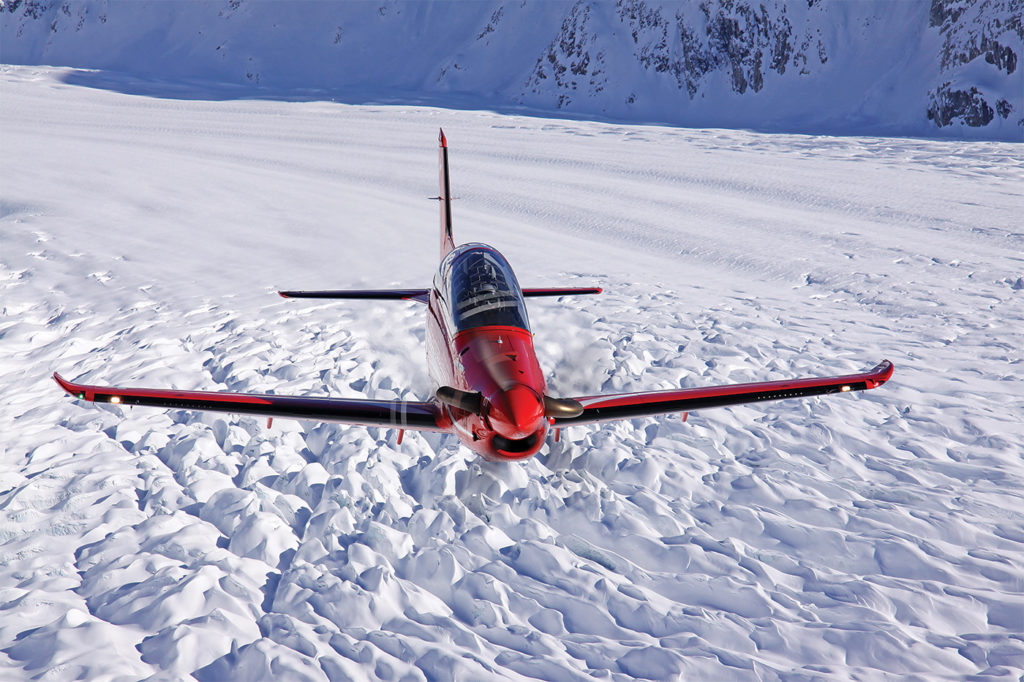 Added capabilities make the PC-21 unique, in that those capabilities include full spectrum mission-systems simulation embedded within the aircraft. Pilatus Photo