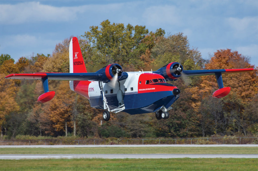 The Grumman HU-16 Albatross twin-engine amphibious aircraft is a great example of a design that still has a lot to offer modern aviators. Eric Dumigan Photo
