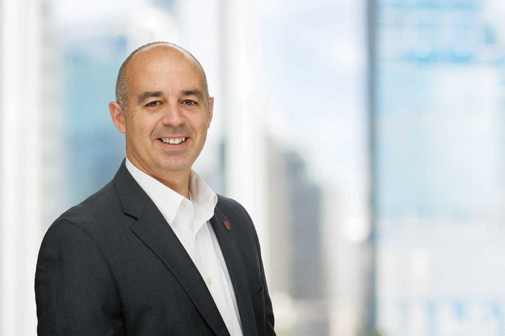 Steeve Lavoie, president and CEO of Bell's Mirabel facility. Lavoie has been in the role since May 2019, replacing Cynthia Garneau. Bell Photo