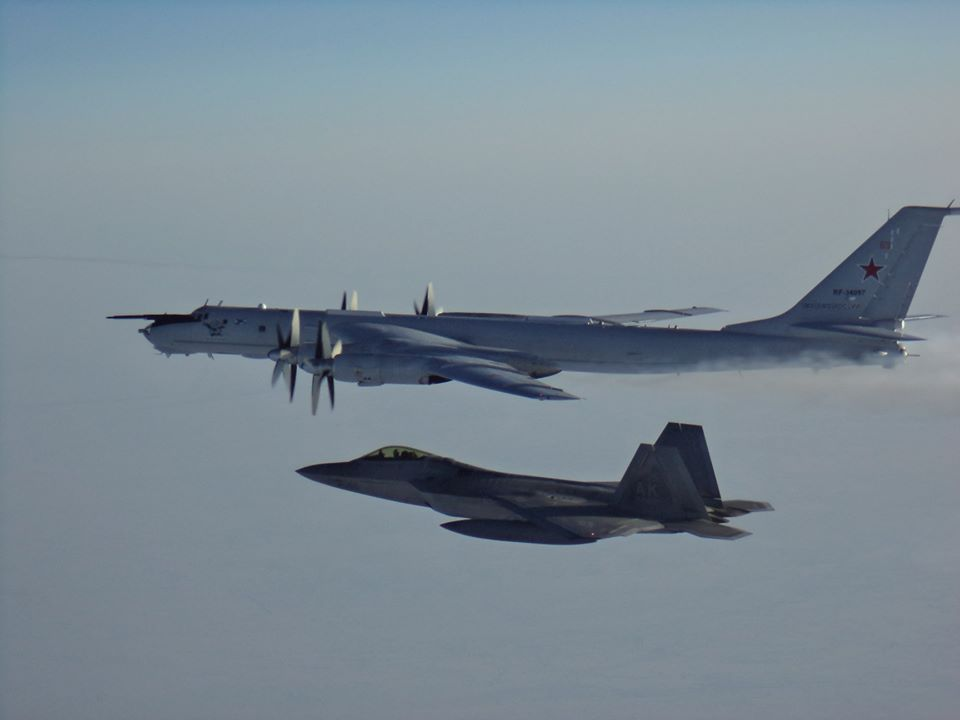 Canadian, U.S. fighter jets intercept Russian aircraft off Alaskan coast