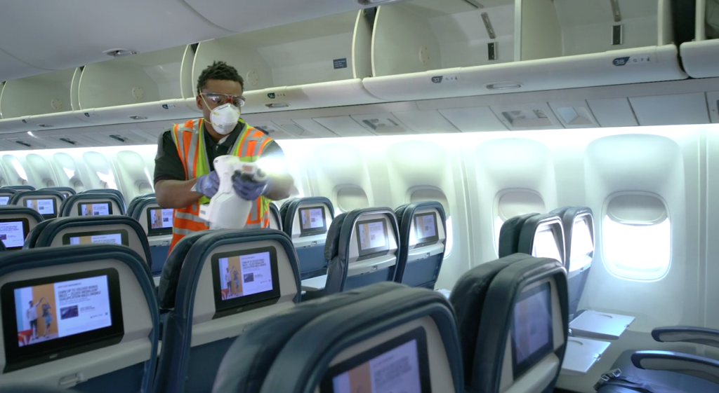 Effects of the COVID-19 pandemic have been widespread across the aviation industry. Delta Airlines Image