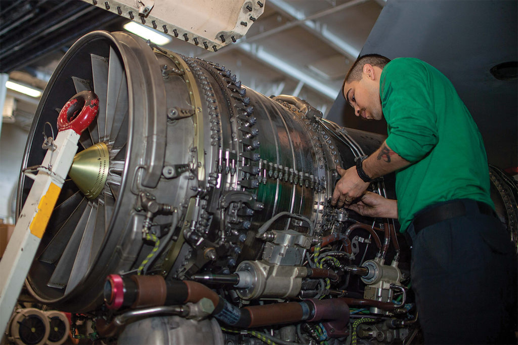 Engine reliability has come a long way, but Boeing's former F/A-18 Super Hornet chief test pilot, Ricardo Traven, said vast distances and the unexpected still make the case for two engines. U.S. Navy Photo