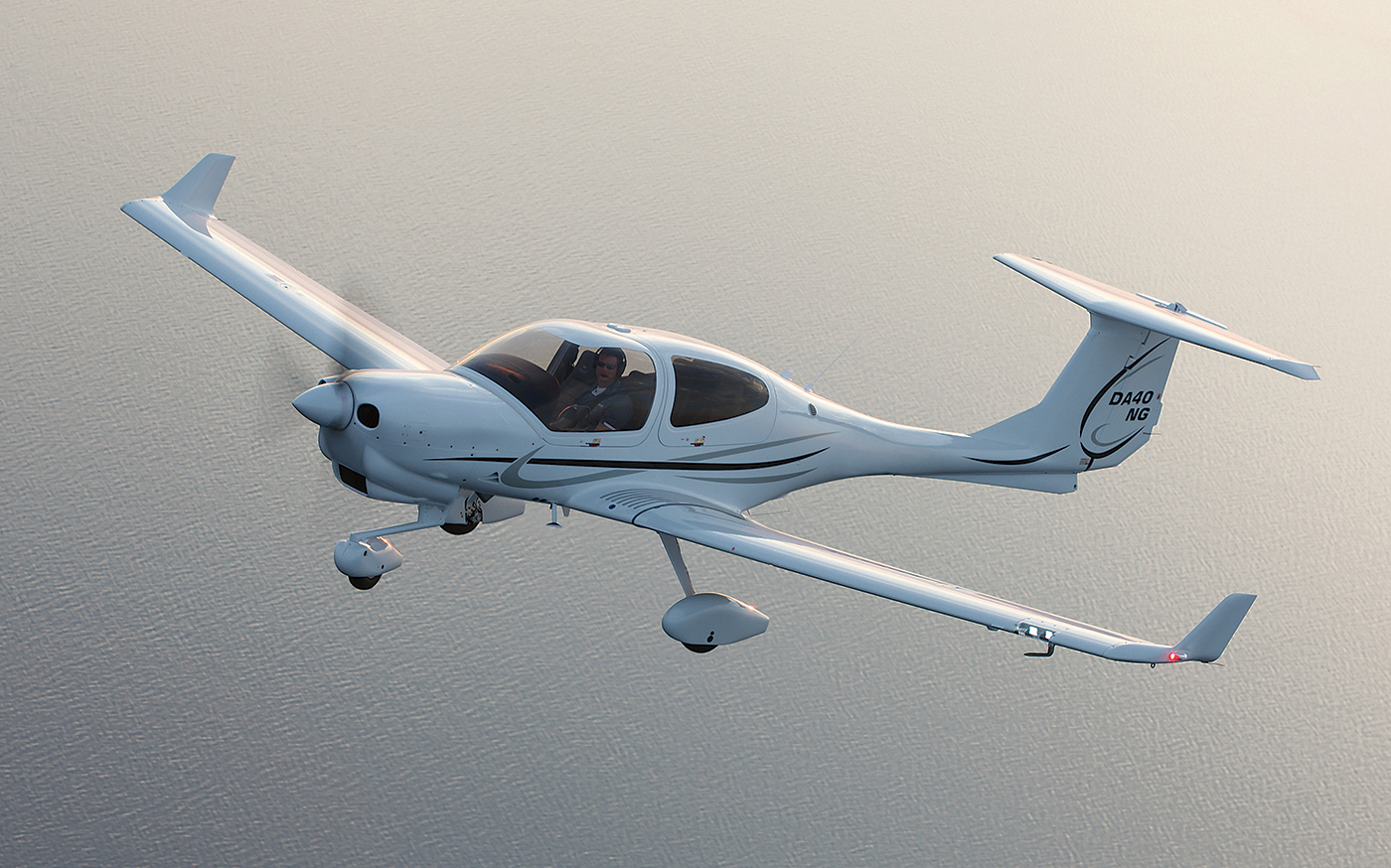 Diamond Aircraft's DA40 NG combines the familiar DA40 airframe with the innovative Austro AE 300 diesel engine. Diamond Photo