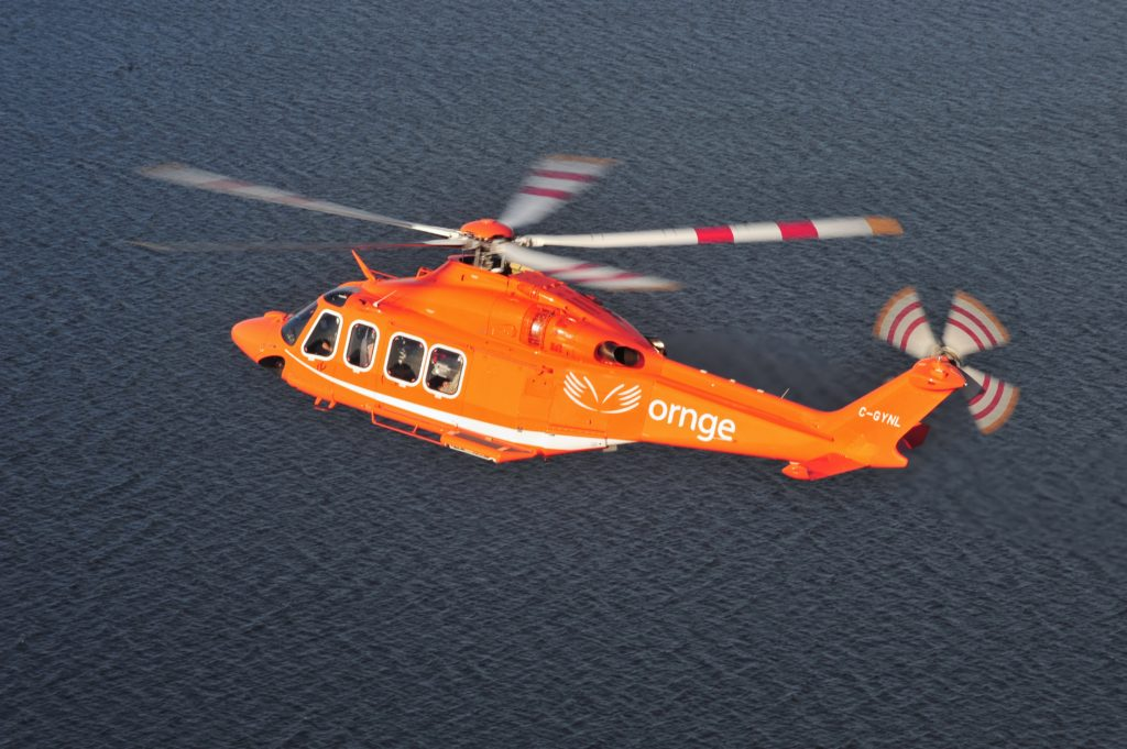 Ornge's fleet consists of eightPilatus Next Generation PC-12 aircraft and12 Leonardo AW139 helicopters. Mike Reyno Photo
