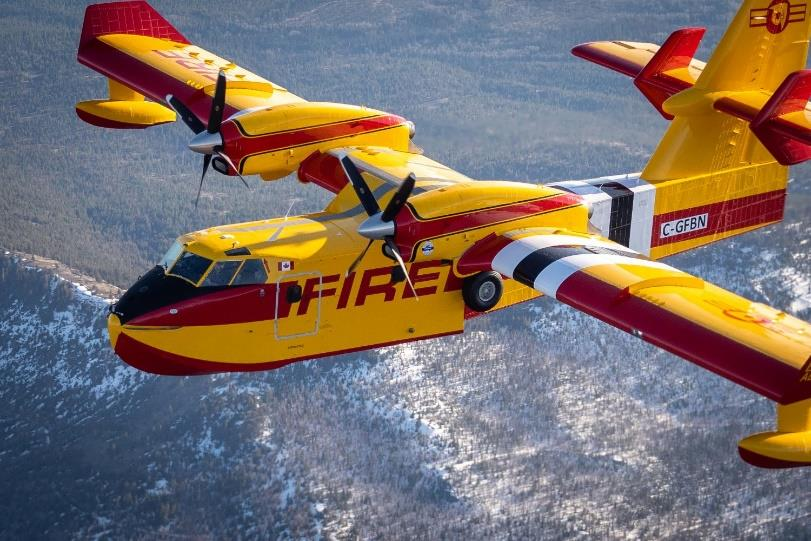 The first production Viking CL-415EAF