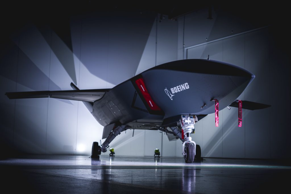 Boeing reveals Loyal Wingman unmanned support drone