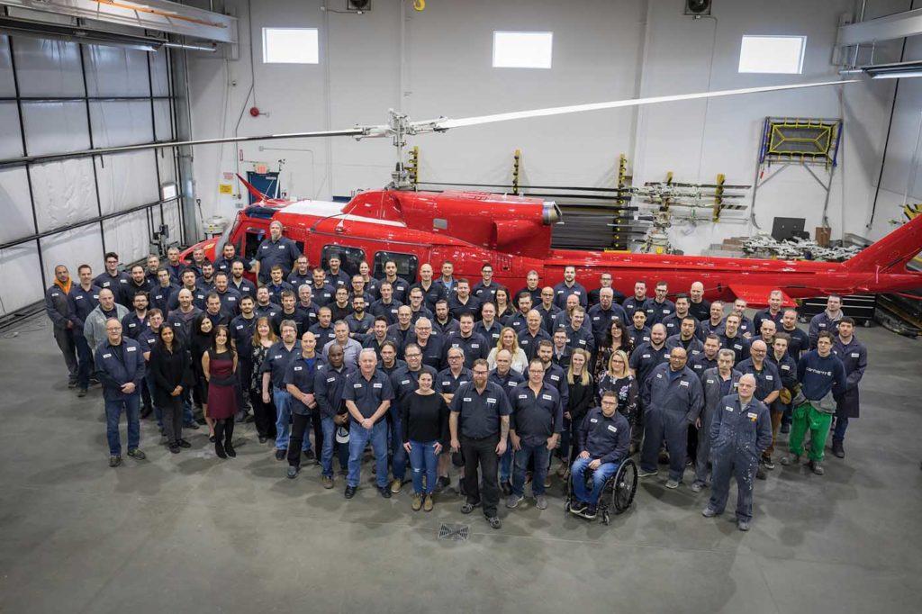 Aerotech has evolved from just three employees in the beginning to now having 150 staff across three facilities in British Columbia. Heath Moffatt Photo
