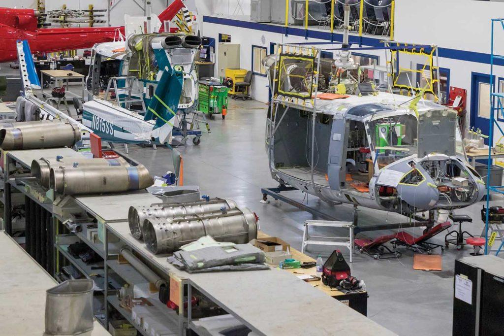 A look at the shop floor of the company's West Kelowna facility. Heath Moffatt Photo
