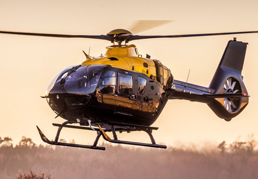 The H135's Helionix avionics suite includes a glass cockpit and a four-axis autopilot. Airbus Photo