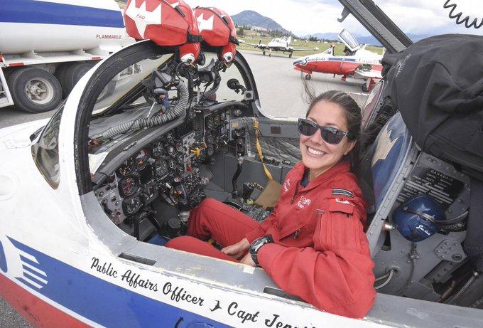 Capt Jennifer Casey, Snowbirds PAO