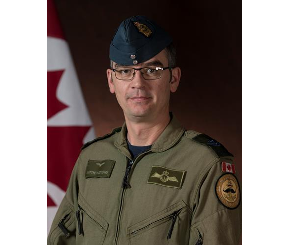 Master Corporal Matthew Cousins, airborne electronic sensor operator, originally from Guelph, Ont. CAF Photo