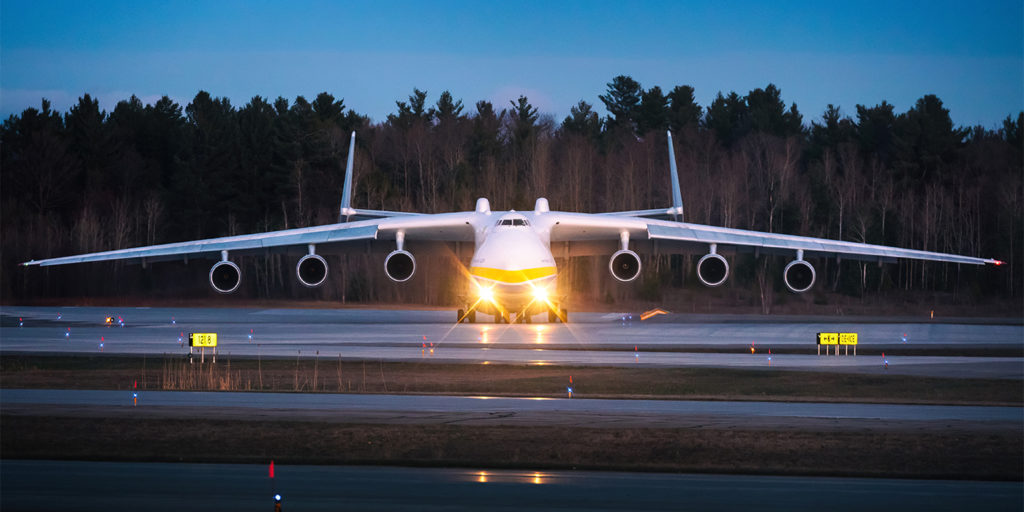 On March 25, the AN-225 Mriya returned to the air after 18 months of maintenance and upgrades -- just in time to assist with pandemic-related shipments. Jan Jasinski Photo