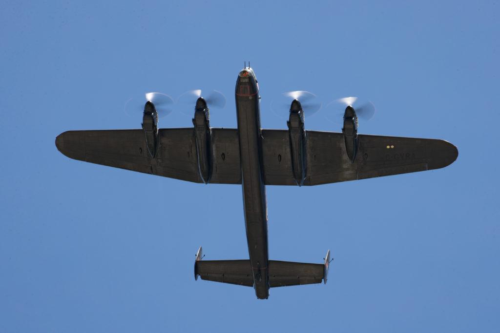 Lancaster flight Canada Day 2020