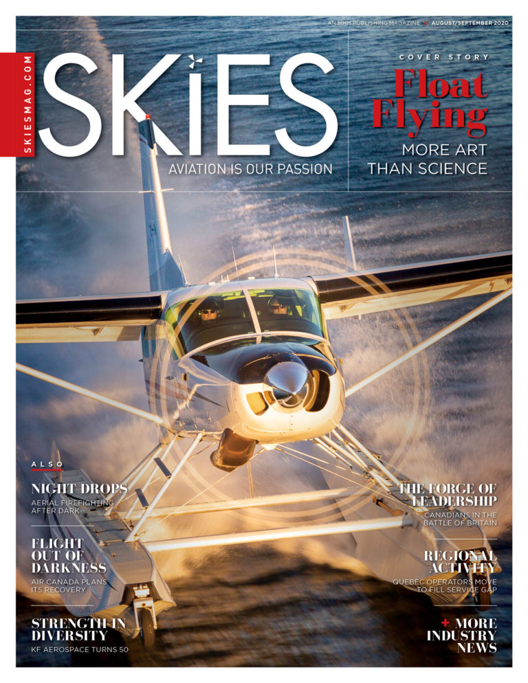 Skies Magazine example -  we cover the best of fixed- and rotary-wing aviation in North America.