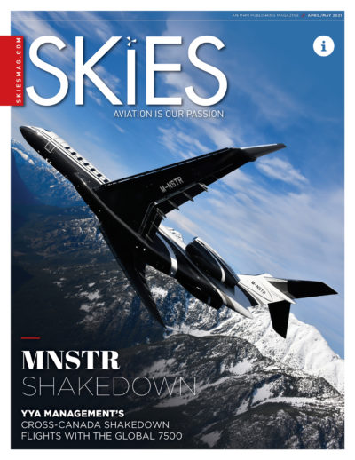 Newest issue of Skies Magazine